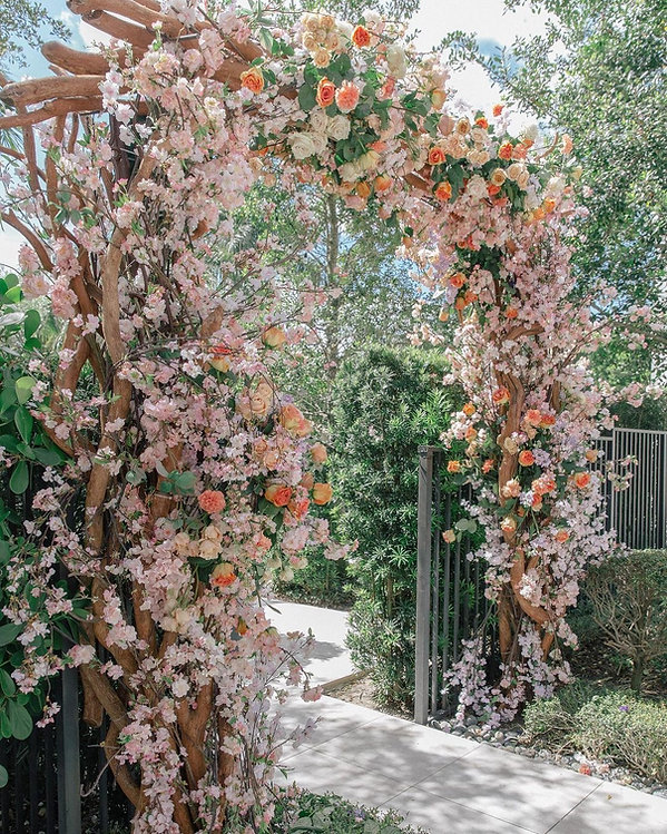 Beautiful Floral Arc ideas