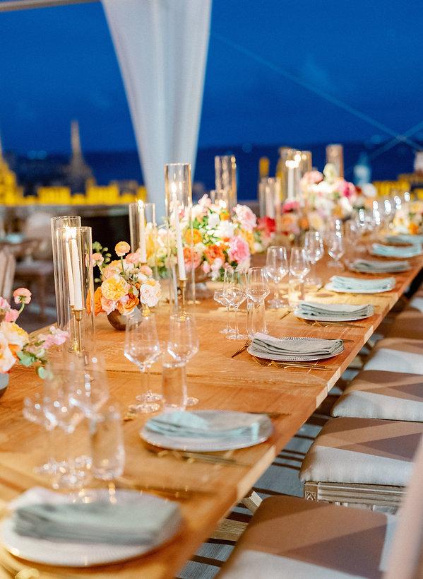 Beautiful tablescape miami