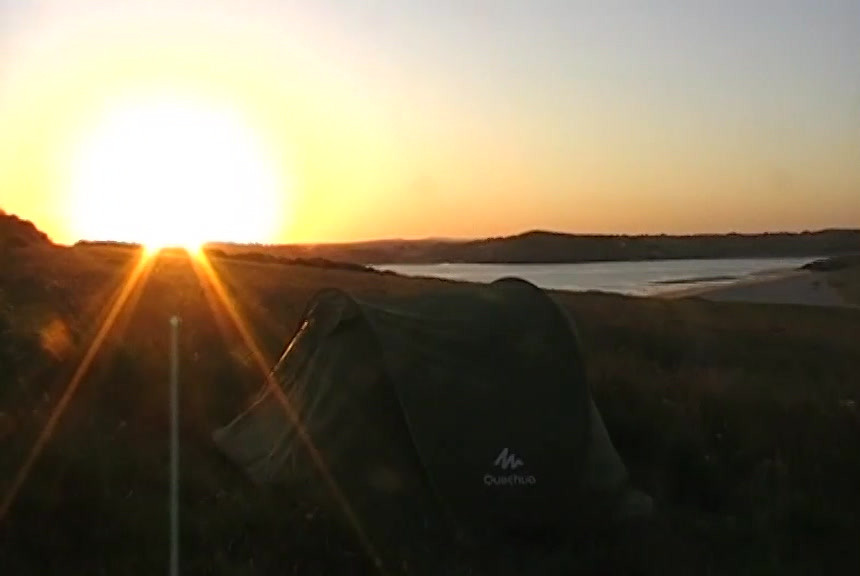 CHASING THE SUN - WILD CAMPING EDITION.