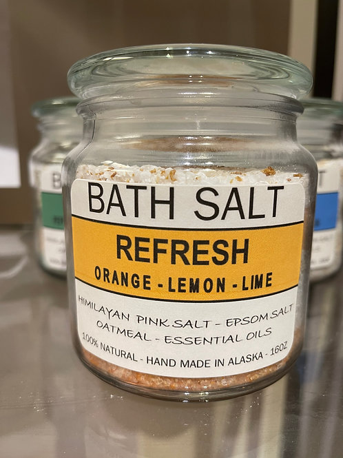 Bath Salt - Refresh (orange, lemon & lime)