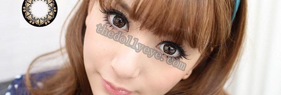 Bat Brown Contact lens -Korea Cosmetic circle lenses
