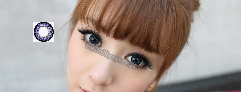 bat Blue Contact lens -Korea Cosmetic circle lenses