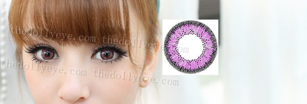 Jewel Pink Contact lens -Korea Cosmetic circle lenses