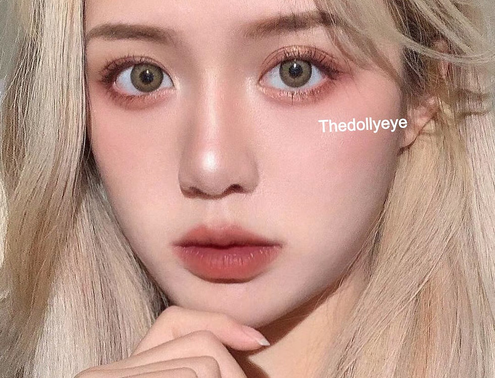 Contact lens -Blonde Dolly Eye Korea Cosmetic circle lenses