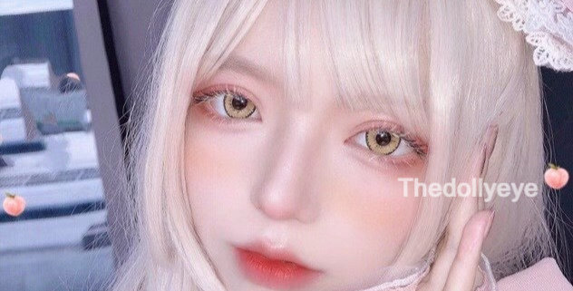 JANe YELLOW Contact Lens Circle colour lens