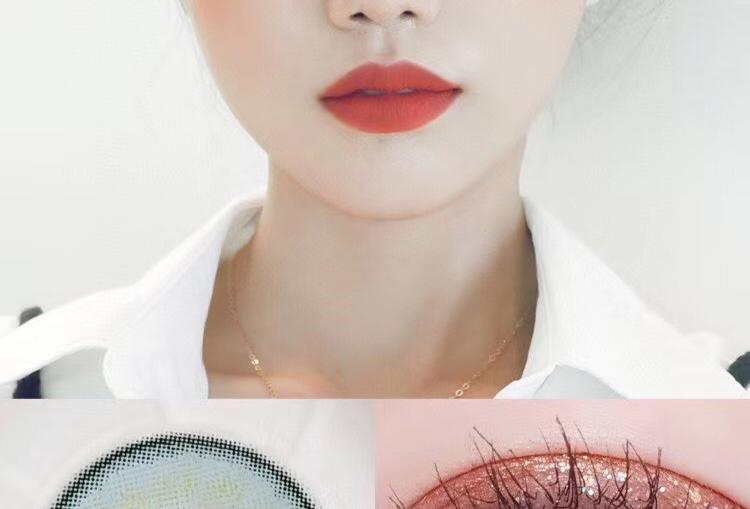 KKW Beauty For eye AQUA Contact lens -Korea Cosmetic circle lenses