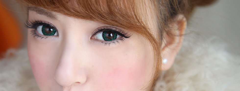 Jolly Vassen Green Contact lens -Korea Cosmetic circle lenses