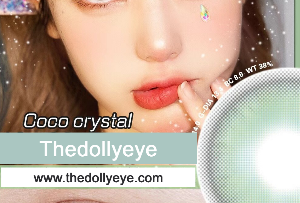 CoCO Milky Green cosmetic contact lens