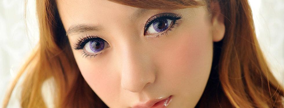 Starry.i Violet Contact lens -Korea Cosmetic circle lenses