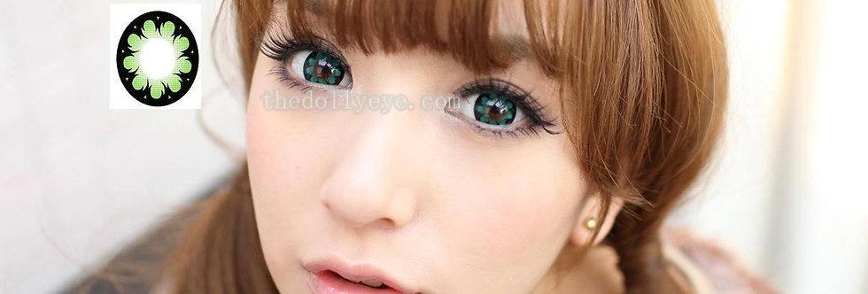 Hana green Contact lens -Korea Cosmetic circle lensesContact lensKorea Cosmetic