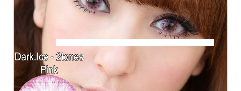Cloud Pink Contact lens -Korea Cosmetic circle lenses