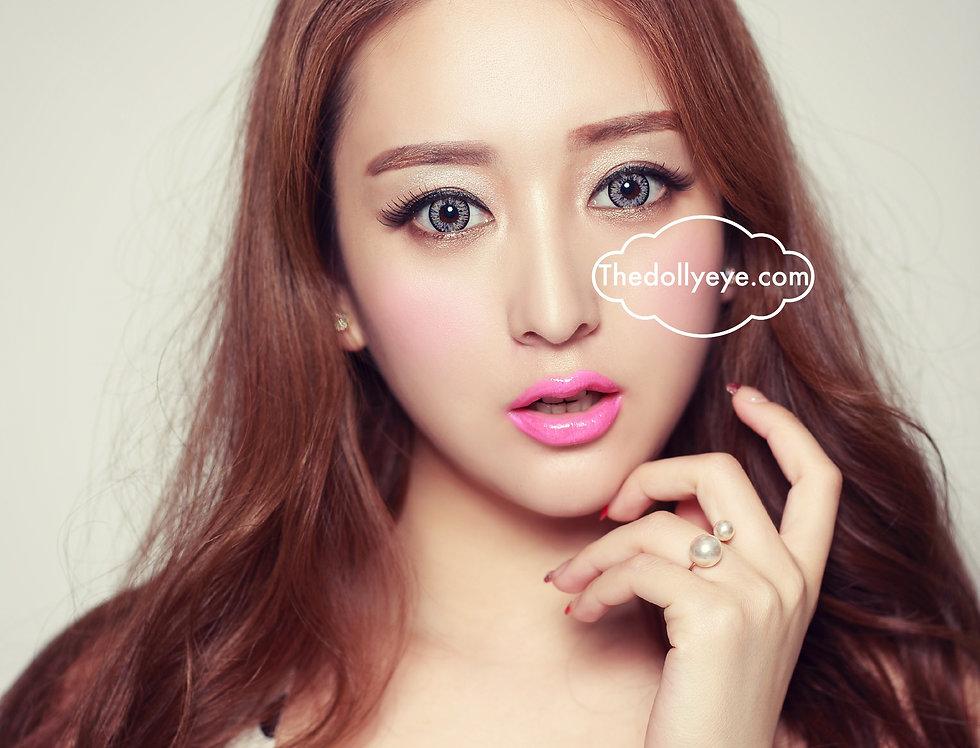 Glamorous Gray Rainbow Contact lens -Korea Cosmetic circle lenses