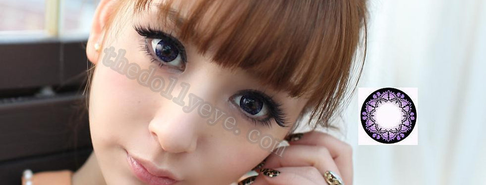 Bat Violet Contact lens -Korea Cosmetic circle lenses