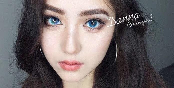Danna Colourful Real Blue Korea Cosmetic circle lenses [Dolly eye contact lens]