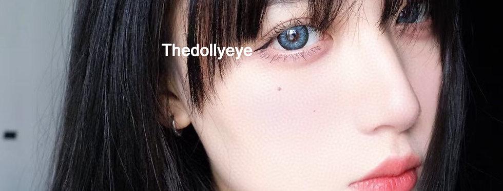 UNIQUE BLUE cosmetic contact lens