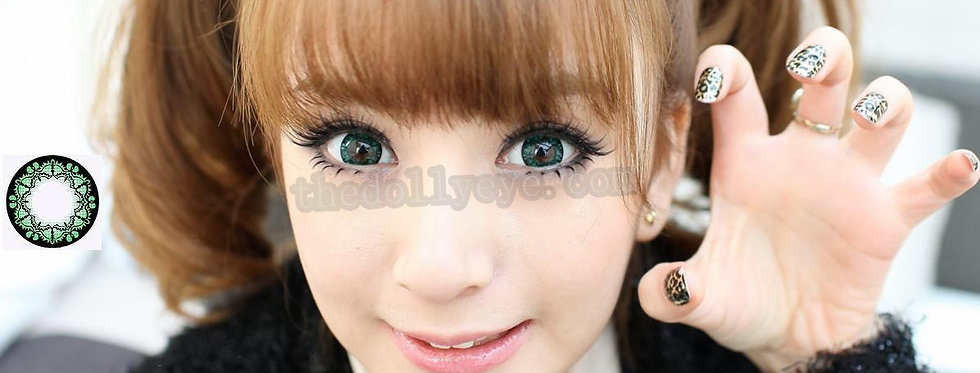 Bat Green Contact lens -Korea Cosmetic circle lenses