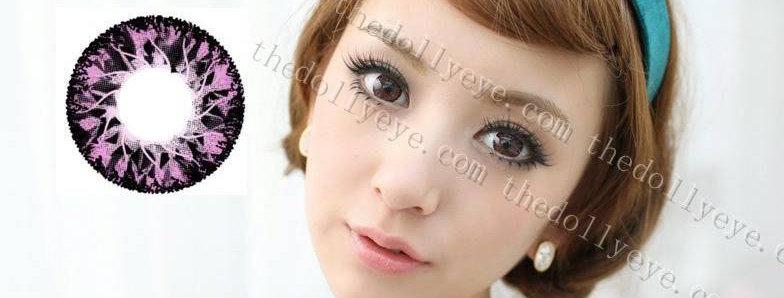 Jolly Vassen Pink Contact lens -Korea Cosmetic circle lenses