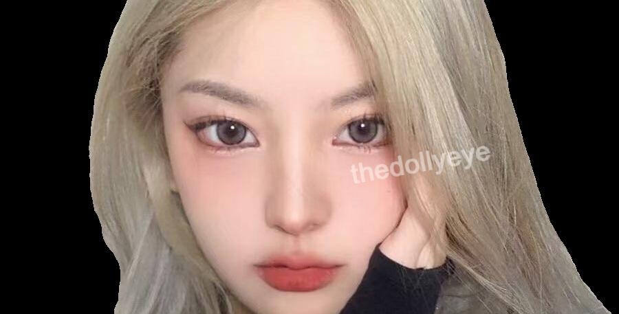 BlackPink Festive Grey cosmetic contact lens