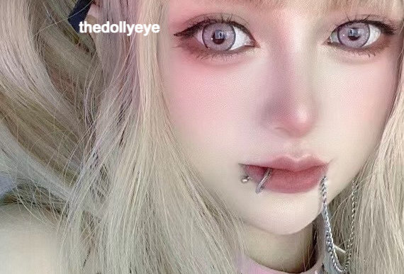BLYTHEYE Super Pink Cosmetic contact Lens