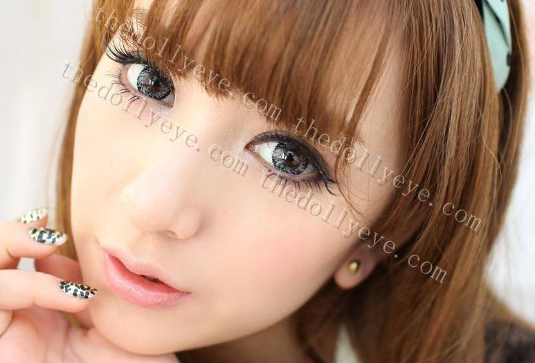 Jolly Vassen Gray Contact lens -Korea Cosmetic circle lenses