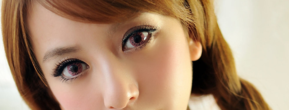 Starry.i Pink Contact lens -Korea Cosmetic circle lenses