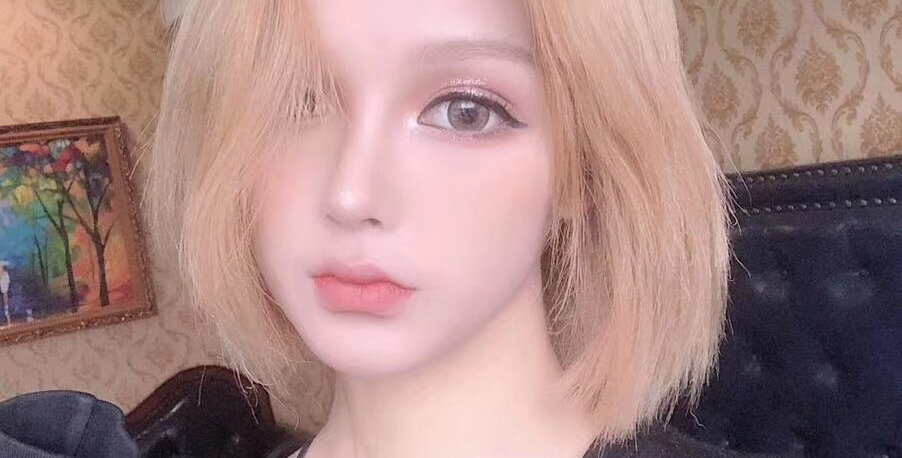 SUPER DOLL BROWN Contact lens Korea Cosmetic circle lenses  Diameter 14.5