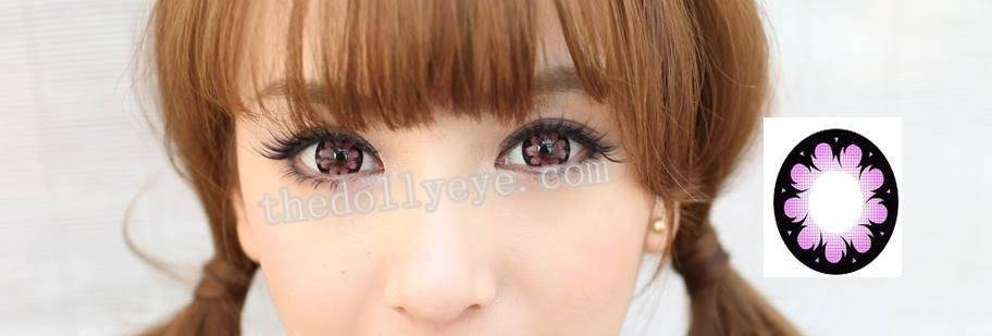 Hana Pink Contact lens -Korea Cosmetic circle lenses