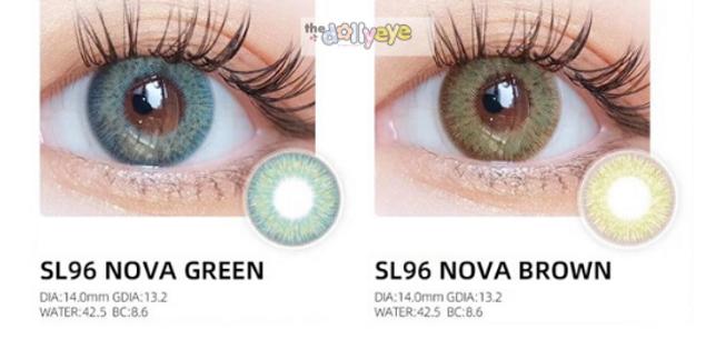 NOVA 14.0mm SL96 GREEN and SL96 BROWN