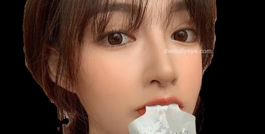 Valentine's Full Circle Hazel | Korea Cosmetic Circle Lens | Contact Lens