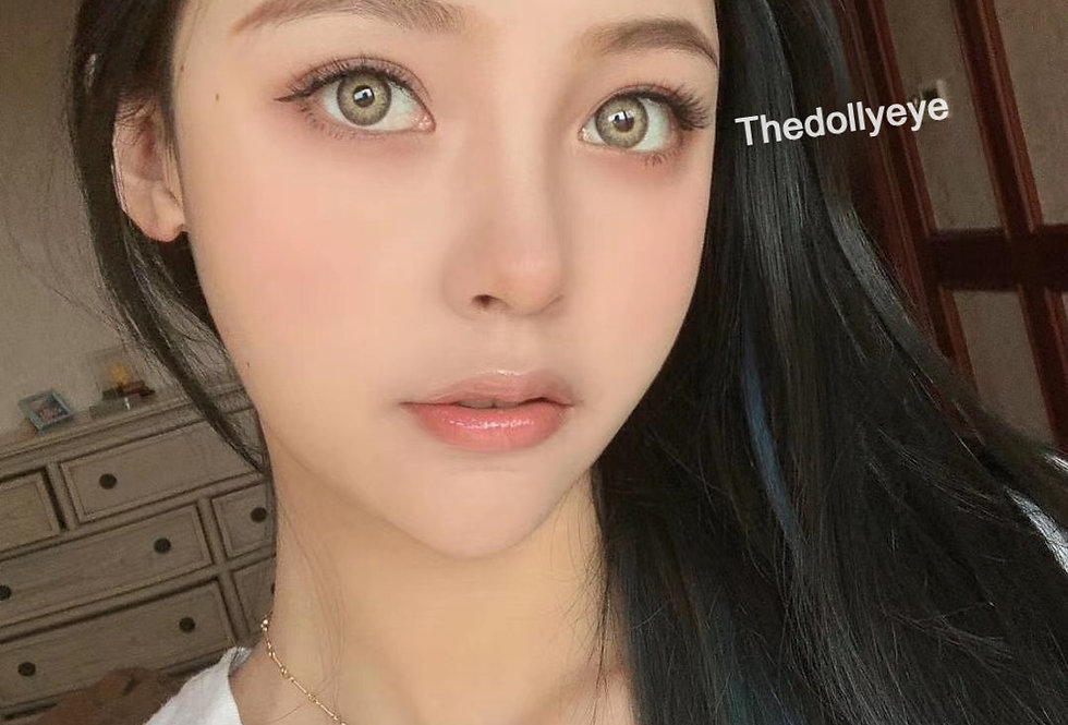BLACKPINK Ice Cream Brown | Contact Lens Circle colour lens| Thedollyeye