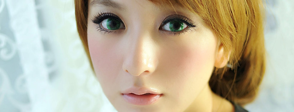 Starry.i Mint Contact lens -Korea Cosmetic circle lenses