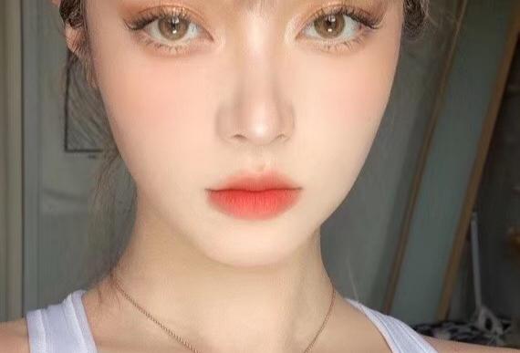 BLACKPINK Shimmer Gold Contact lens -Korea Cosmetic circle lenses