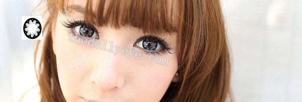 Hana Gray Contact lens -Korea Cosmetic circle lenses