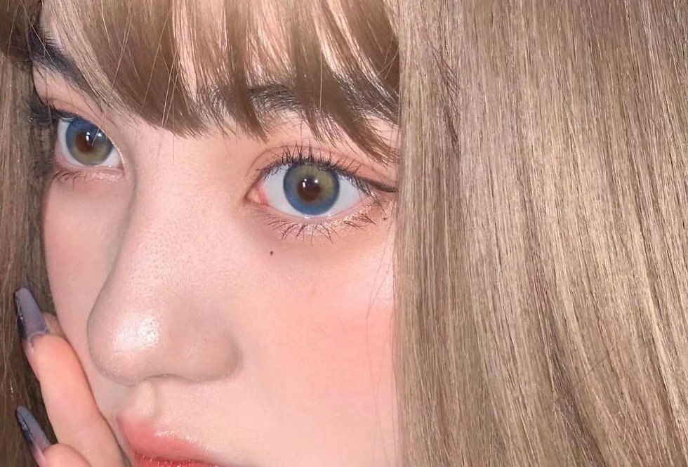 BLACKPINK JENNIE Contact lens -Korea Cosmetic circle lenses