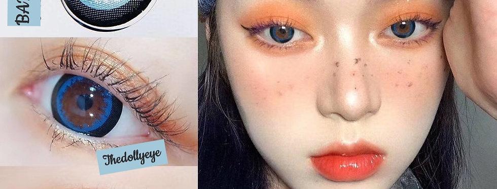 Contact lens BARBIE MEGA BLUE Korea Cosmetic circle lenses