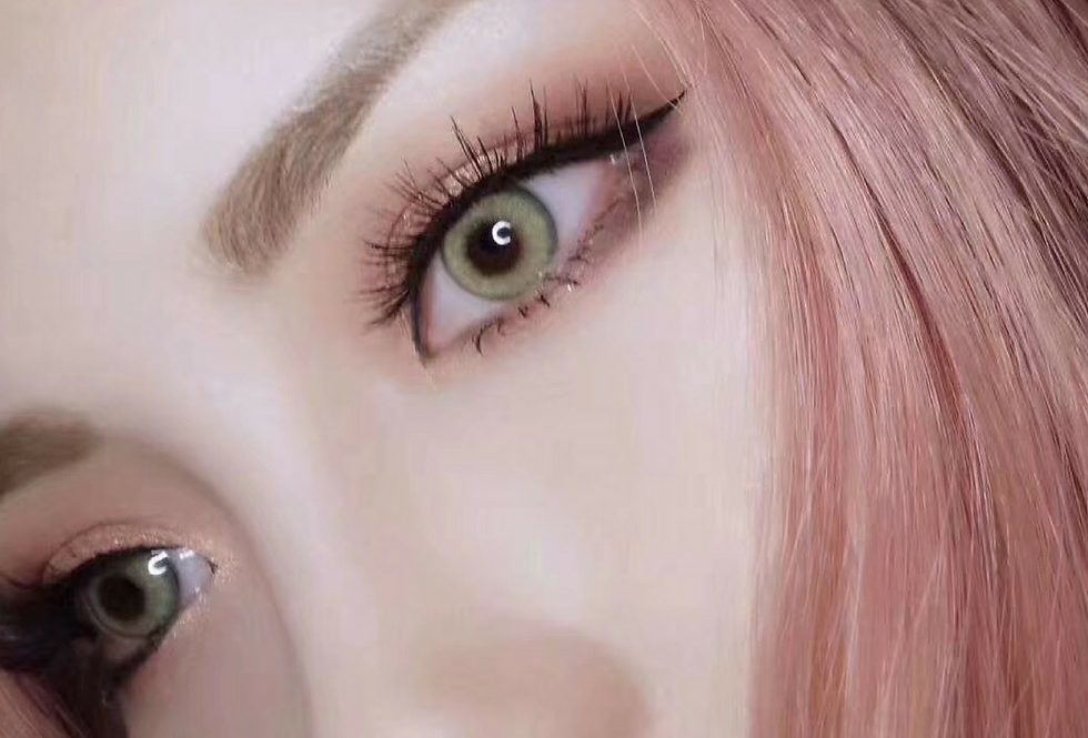 IRIS KHAKI Contact lens -Korea Cosmetic circle lenses