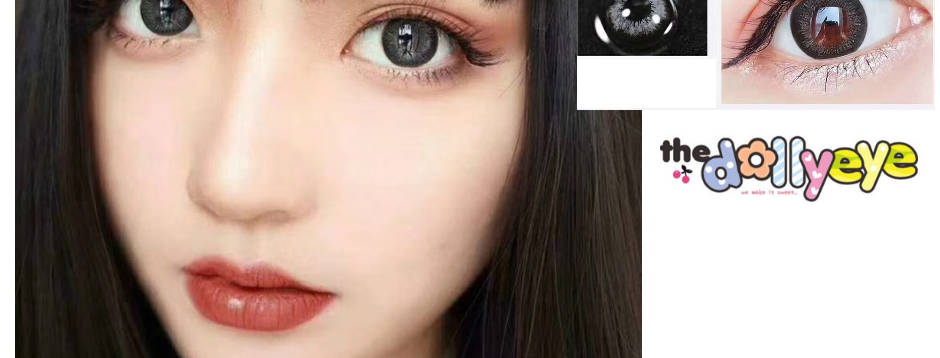 Barbie 2019 Gray Bigeye circle lenses