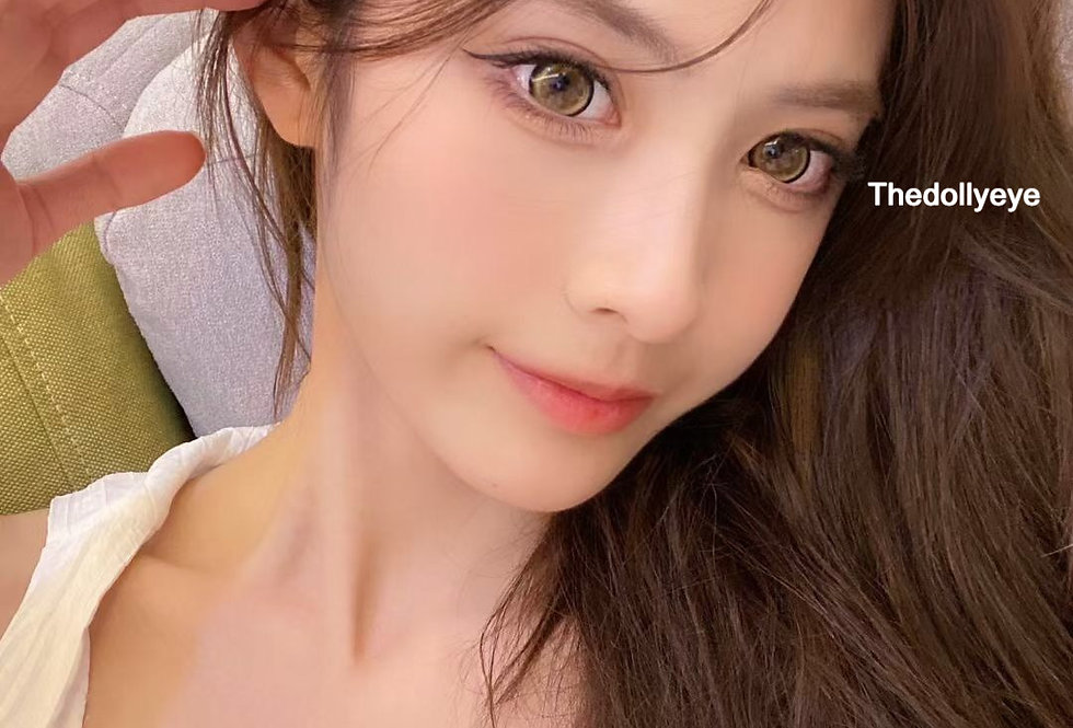 SUPERCIRCLE BROWN COSMETIC CONTACT LENS