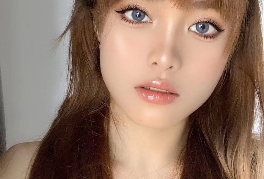 Nadia Grey Contact lens -Korea Cosmetic circle lenses