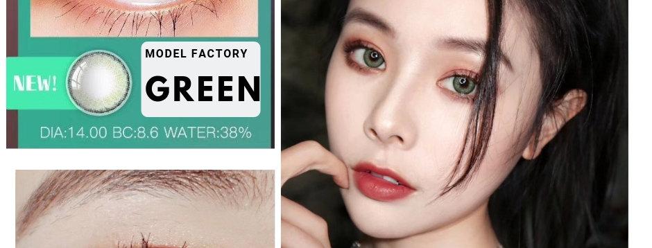 Model Factory Diva Green