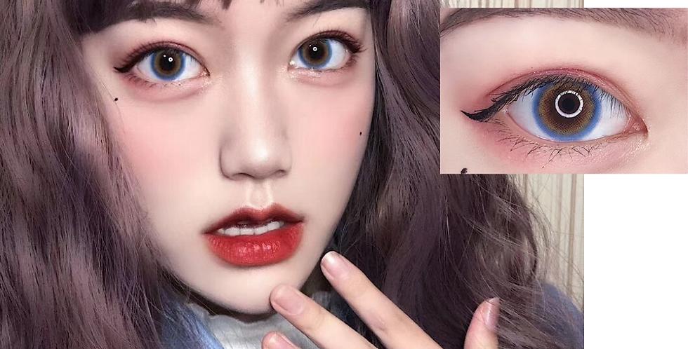 14.2mm IDOL Contact lens -Special Blue Korea Cosmetic circle lenses