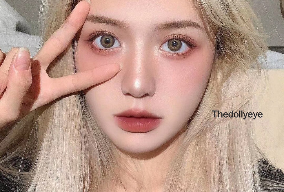 Blonde Dolly Eye Korea Cosmetic circle lenses