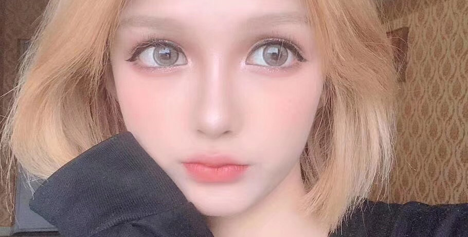 Contact lens - SUPER DOLL BROWN Contact lens - IRIS delight series 14.5mm