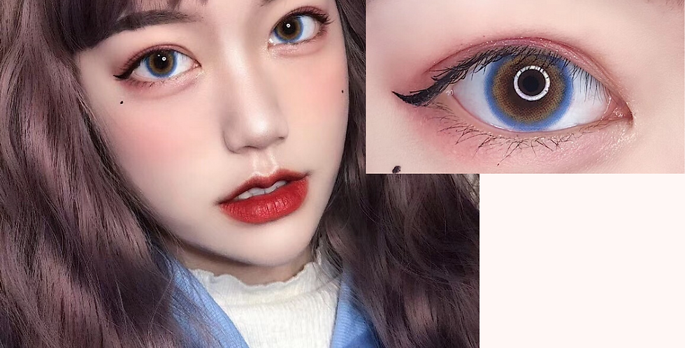 14.2mm IDOL Contact lens Special Blue Korea Cosmetic circle lenses