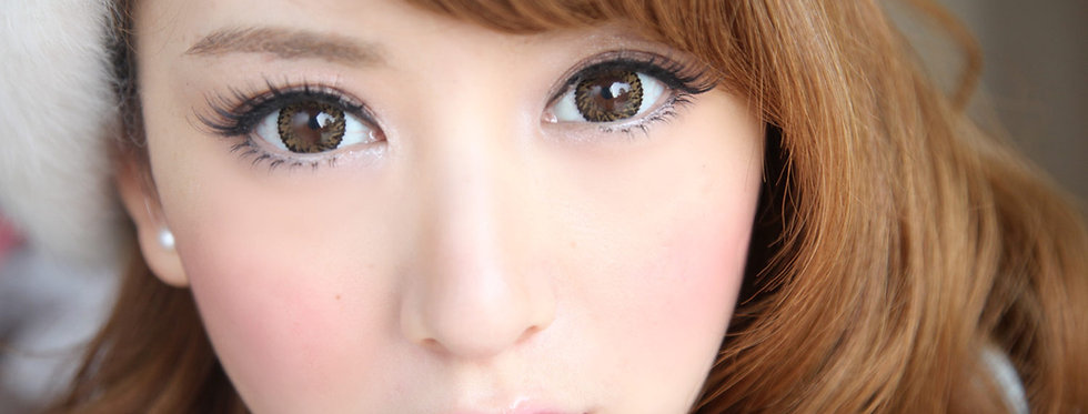 Jolly Vassen Brown Contact lens -Korea Cosmetic circle lenses