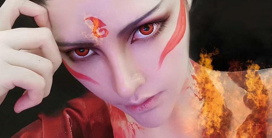 Cosplay Red Halloween 2019
