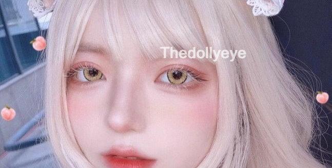 JANe YELLOW Contact Lens Circle colour lens