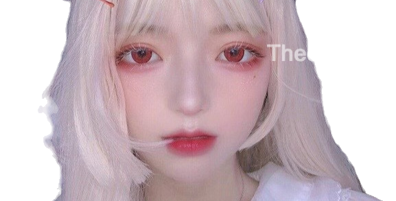 DOLLY RED circle lenses