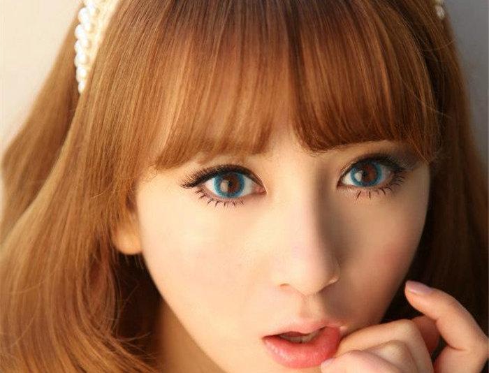 Cloud Blue Contact lens -Korea Cosmetic circle lenses