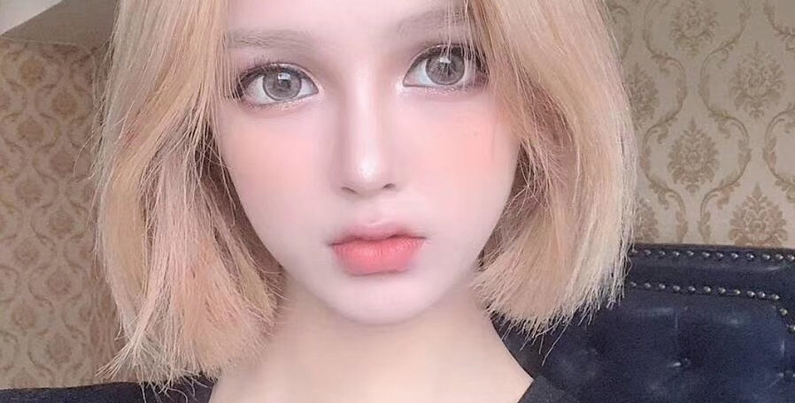 Korea Cosmetic circle lenses SUPER DOLL BROWN Contact lens